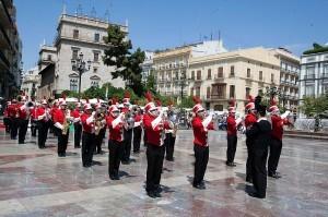 La Triuggio Marching Band deleitó al publico/ Eva Ripoll