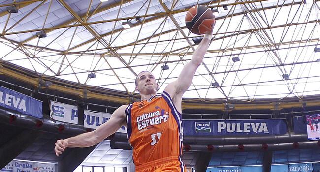 Valencia Basket. Nick Caner-Medley