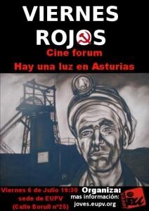 Cartel de la campaña Viernes Rojos