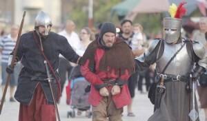 Los visitantes de la muestra podrán contemplar recreaciones medievales