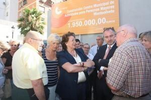 La alcaldesa Barberá ha realizado las declaraciones en Monteolivete