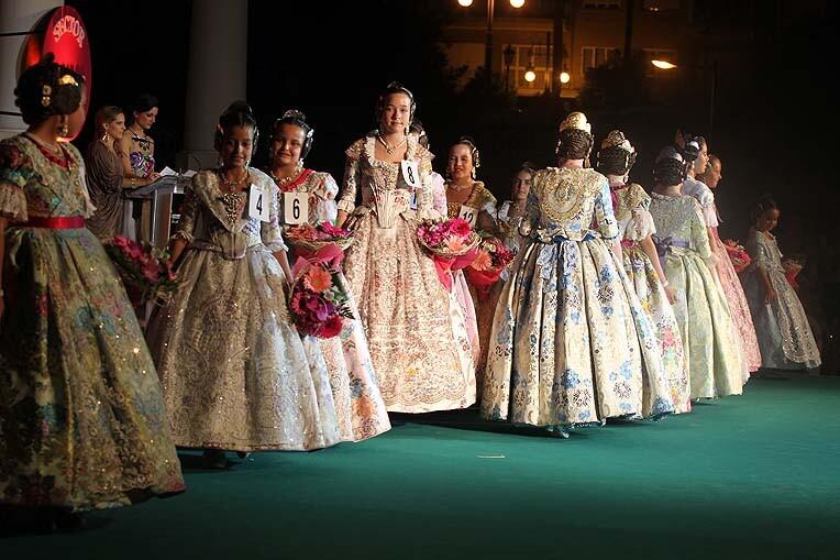 Un grupo de candidatas durante una de las preselecciones