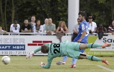 Uno de los cuatro goles lo marco Carles Gil/vlc