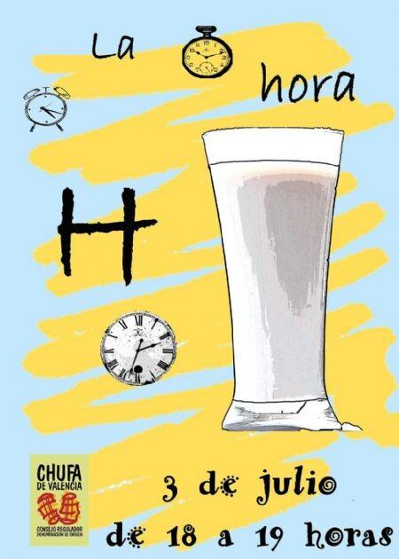 Cartel de la Hora H de la Horchata