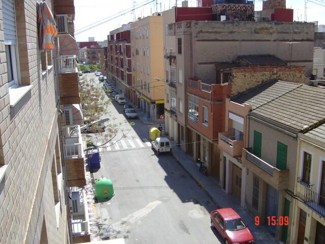 Una calle de la pedanía de Castellar-Oliveral