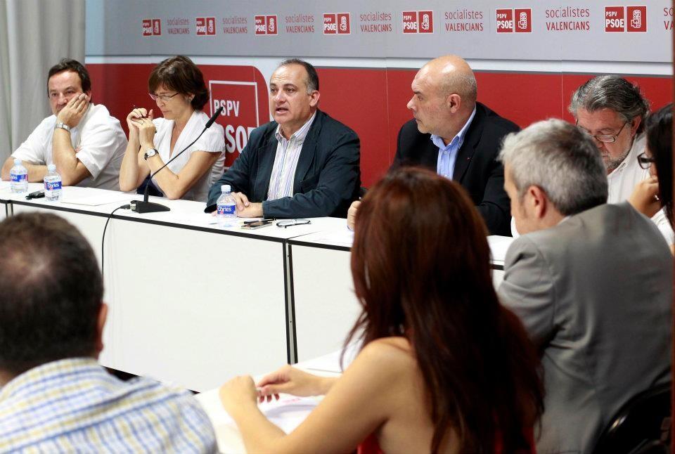 Comisión ejecutiva del PSPV