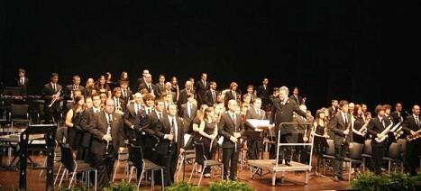 La banda de música belga en un concierto celebrado en Torrevieja
