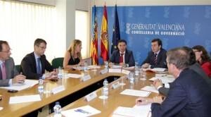 Reunión para abordar la futura normativa de Costas/gva