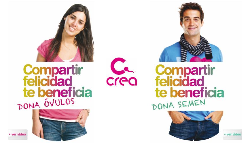 Cartel de la campaña dirigida a los jóvenes de CREA que llevan al festival de Burriana