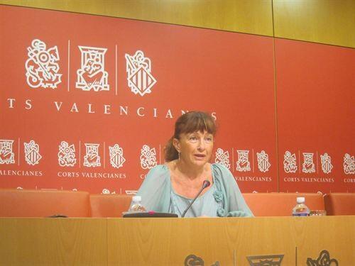 La diputada del PSPV, Cristina Moreno