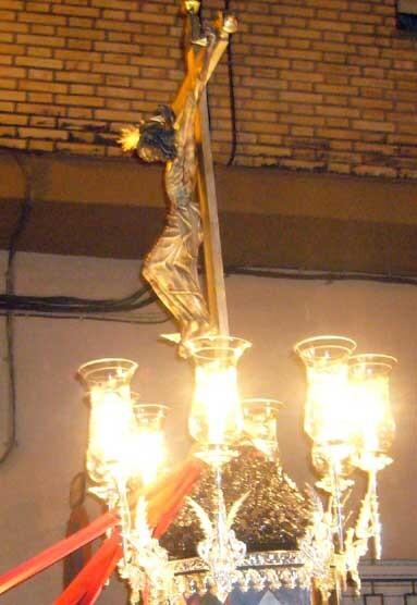 Imagen del Cristo Verdadero patrón de Benifaraig y de honda devoción en L´Horta