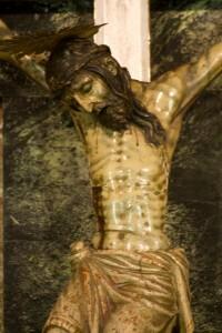 Imagen del Cristo Verdadero antes de la restauración
