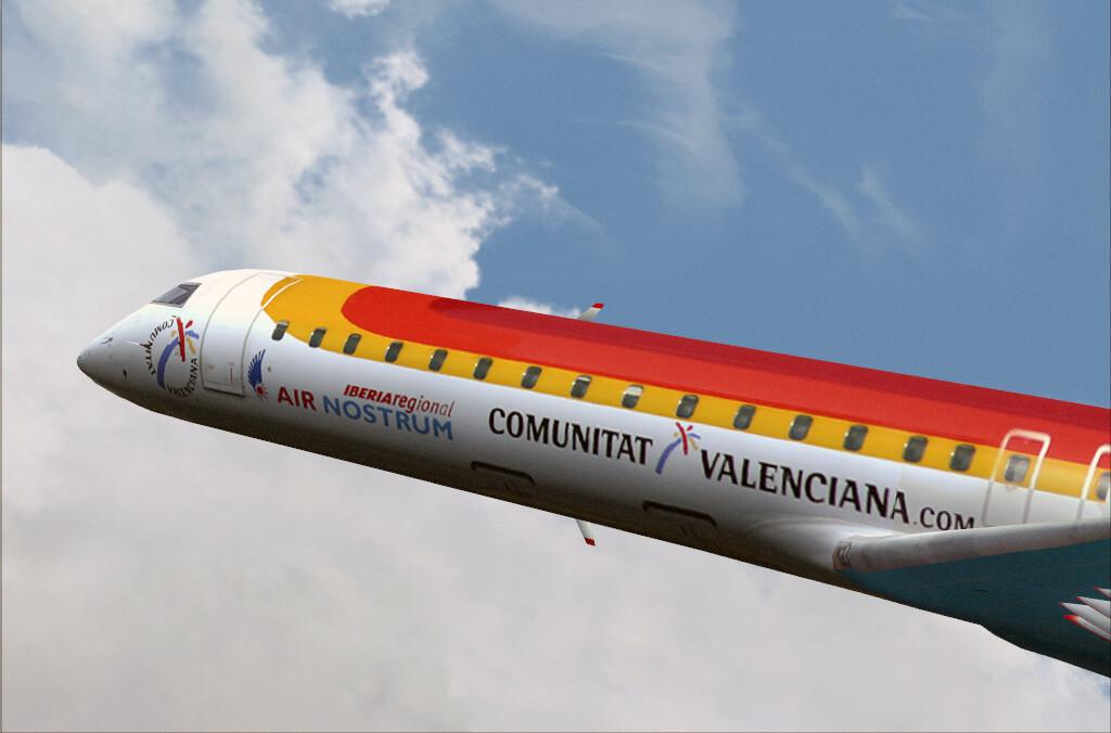 Un avión CRJ900 de Air Nostrum cubrirá la nueva ruta a Argel desde Valencia