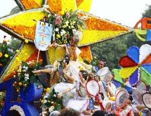 La carroza de Jordi Palanca ganó el primer premio que en la nomenclatura de la Batalla Floral es el segundo