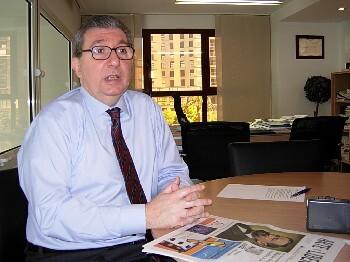 El responsable de Turismo Valencia, José Salinas