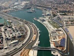 Vista aérea de la Marina Real y la nueva bocana del puerto