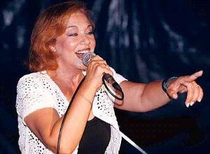 Karina durante un concierto celebrado hace unos años