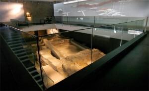 Interior del Centro Arqueológico de La Almoina