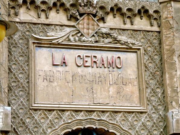 Fachada neomudéjar de La Ceramo/circulo defensa patrimonio