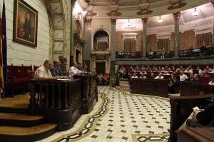 Francisco Lledó en la última asamblea de presidentes/armando romero