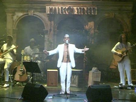El cantante andaluz Pitingo