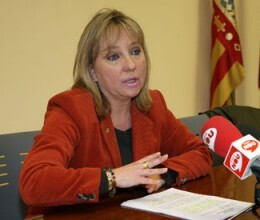 La edil de Empleo y vicepresidenta de la diputacón, María Jesús Puchalt