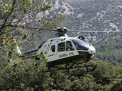 Helicóptero de rescate de la Guardia Civil
