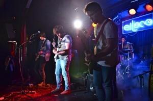 El grupo de rock Skimoes en La Sala El Loco