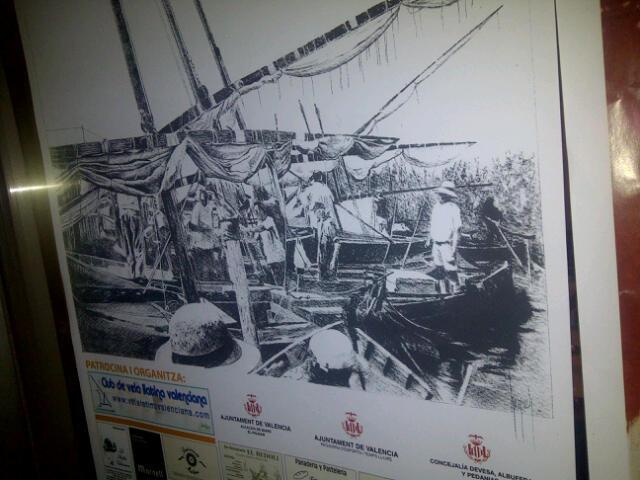 Cartel de la V exhibición de vela latina