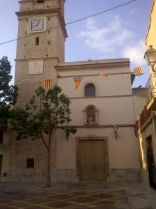 Fachada de la iglesia de Benifaraig/vlcciudad