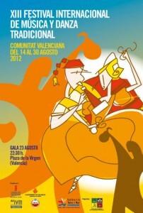 Cartel de la XIII edición del Festival de Folclore/fed. foclore c.v.