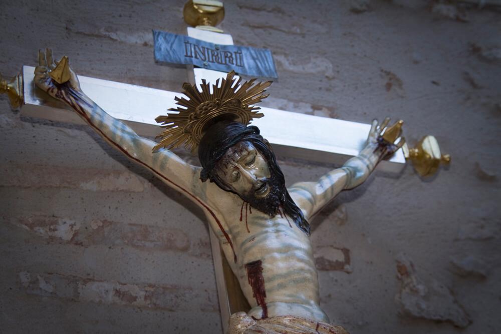El Cristo Verdadero como ha quedado después de la restauración/enrique
