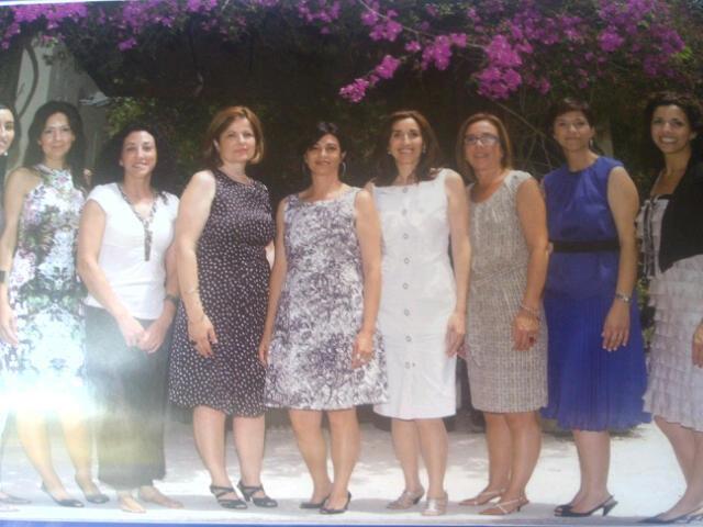 Grupo de festeras 2012 de la pedanía de El Saler