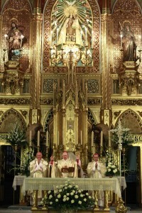El arzobispo de Valencia ofició la misa junto con los obispos de Málaga e Ibiza/alberto saiz-avan