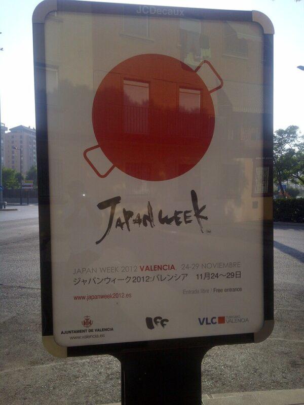 La Japan Week ya se anuncia en las calles de la ciudad/vlcciudad