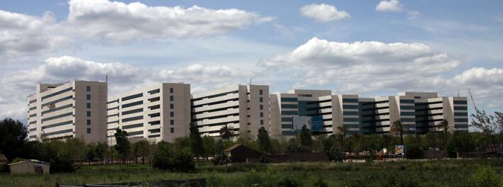 Vista general del complejo de la Nueva Fe donde se robó la bobina aprovechando el almuerzo de los trabajadores