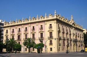 Edificio del Tribunal Superior de Justicia de Valencia