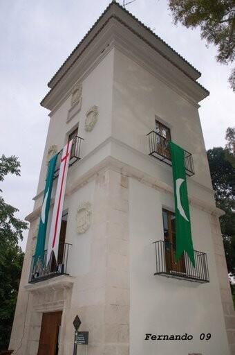 Torreón de la Alameda donde se realiza la escuela de cabos/fevamic