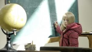 Una de las niñas protagonistas del cátalogo/elcorteinglés