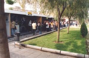 En la plaza del Agora tienen lugar actividades culturales