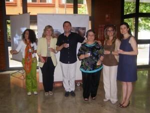 La concejala de Bienestar Social e Integración, Ana Albert, en un acto del colectivo Acnur