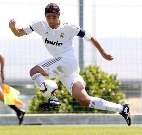 andy durante un encuentro con el Real Madrid-Castilla