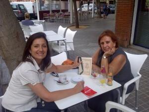 Mercedes Bernal y Maria Isabel Espert, las autoras del libro/vlcciudad