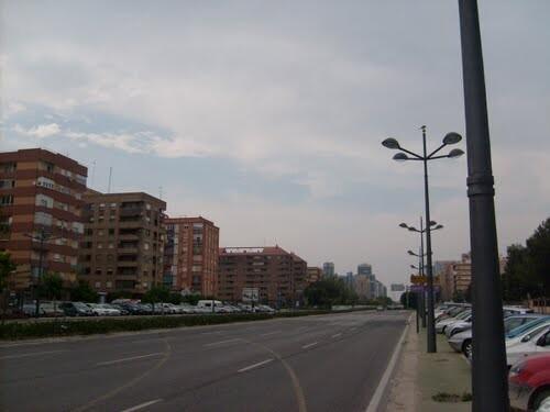 Una zona del barrio de Campanar donde se localizó la guardería ilegal