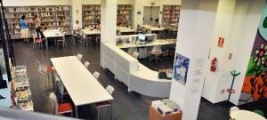 Biblioteca Al Russafi en el barrio de Russafa/ayto valencia