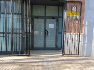 Entrada a la biblioteca de La Torre/eu