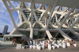 Exterior del Museo de las Ciencias en el complejo de la Ciudad de las Artes/gva