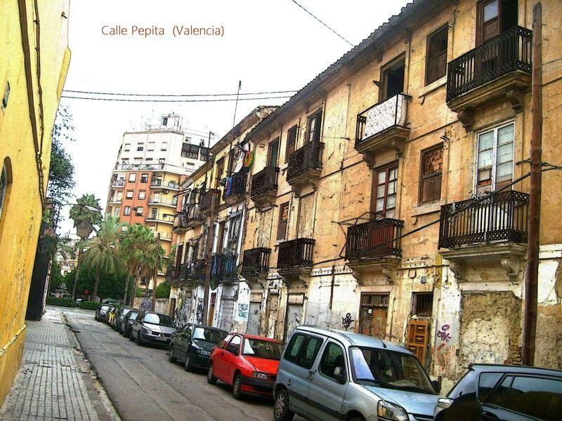 Calle Pepita donde se han ejecutado las obras/urbanity