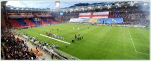 Campo del Genoa donde mañana se medirá el equipo granota en un amistoso a las 19 horas