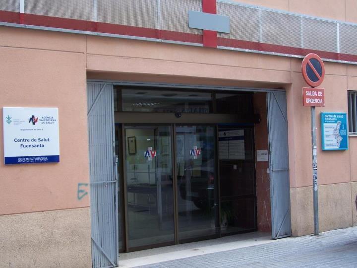 Entrada del Centro de Salud de Fuensanta